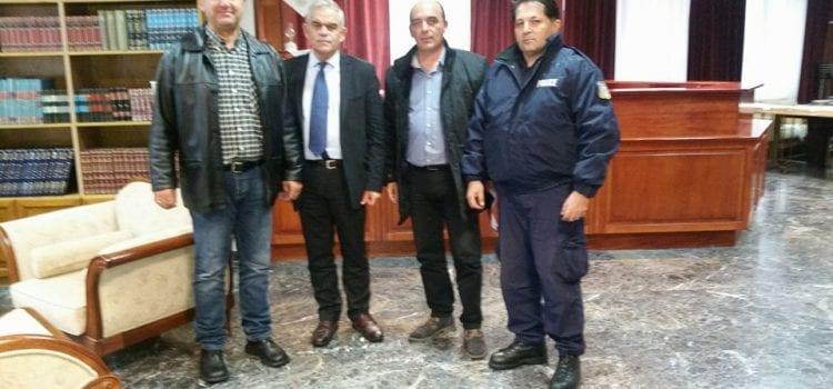 Συνάντηση με τον Υπουργό  Προστασίας του Πολίτη κ. Τόσκα Νικόλαο