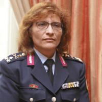 Συνάντηση με την Αντιστράτηγο  Τσιριγώτη Ζαχαρούλα κατά την επισκεψή της στο ΠΡΟ.ΚΕ.ΚΑ. Ξάνθης