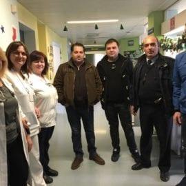 Επίσκεψη στην παιδιατρική κλινική του Νοσοκομείου Ξάνθης